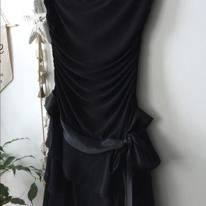 MYSTIC || Strapless cocktail dress